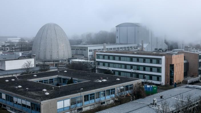 Galileo Baustelle, in Garching, TU-Gelände