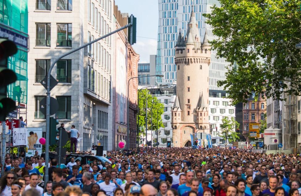 Morgan Corporate Challenge in Frankfurt