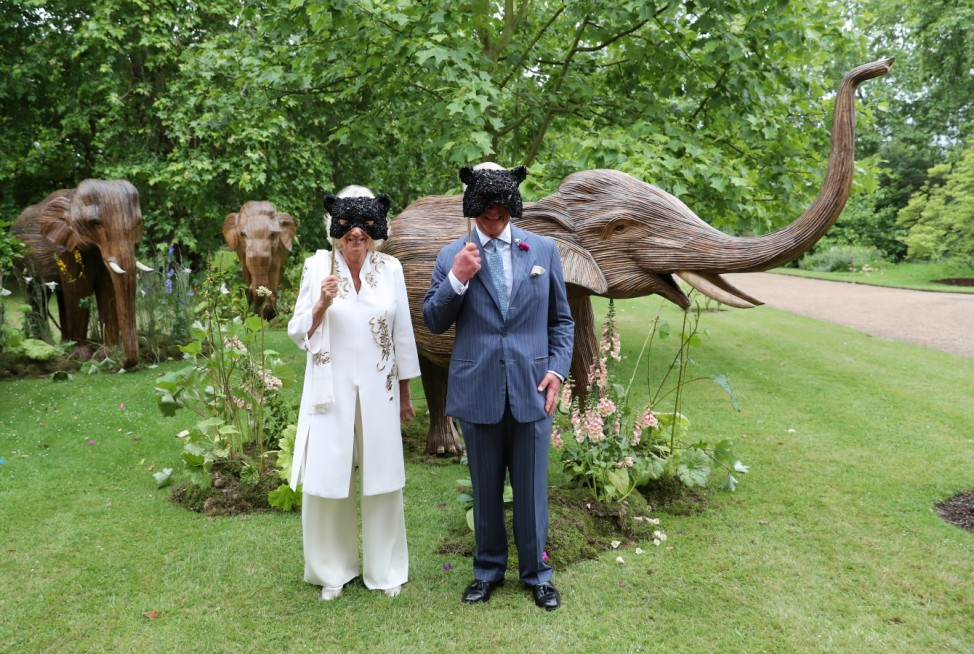 BESTPIX: The Prince Of Wales And The Duchess Of Cornwall Host Reception For The Elephant Family Animal Ball