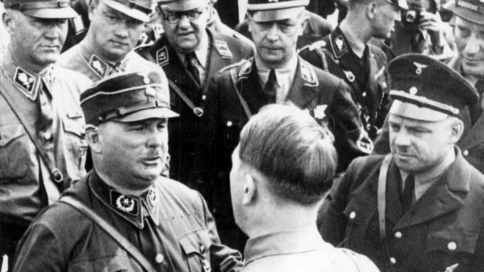 Ernst Röhm und Adolf Hitler, 1933