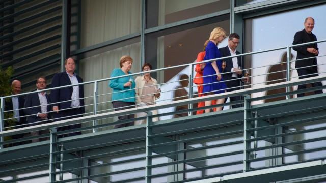 Koalitionsausschuss im Bundeskanzleramt