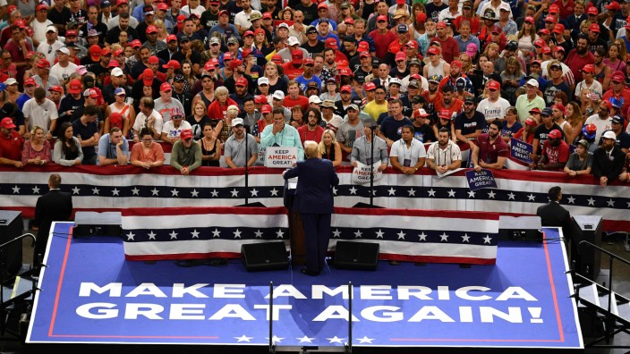 Trump expected to formally declare re-election bid at rally