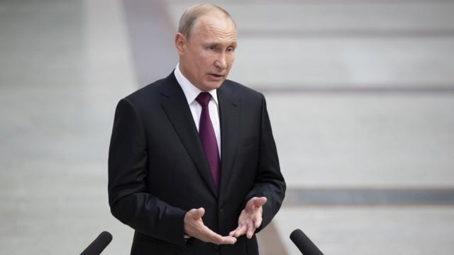 Putin nach TV-Show 'Direkter Draht'