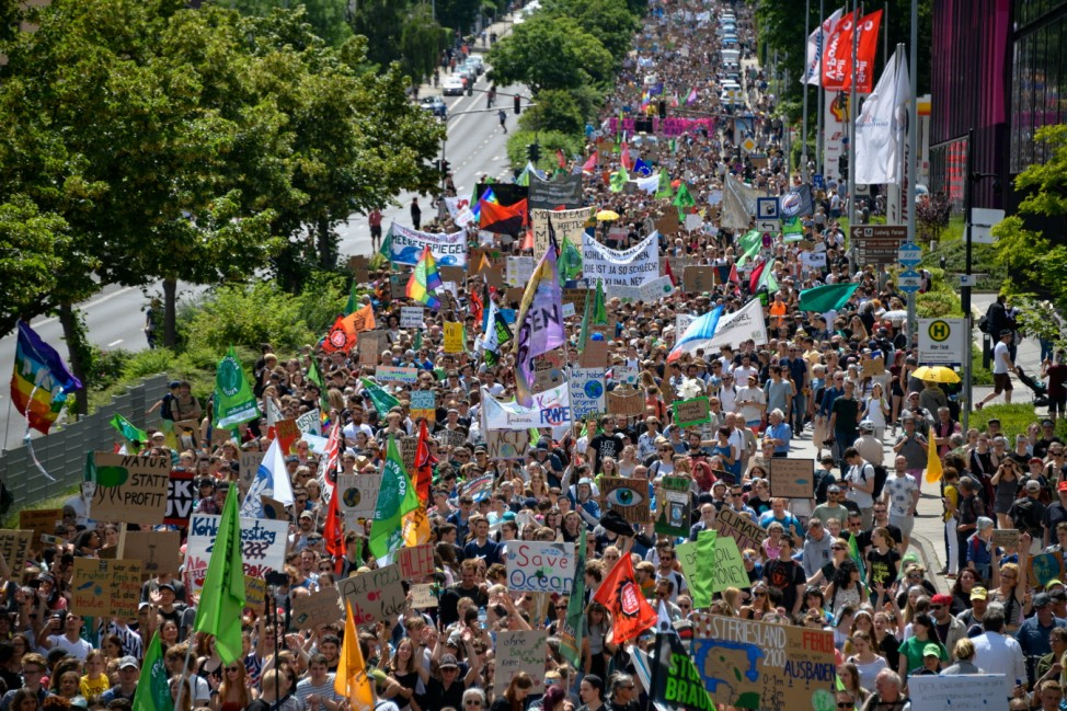Fridays For Future International March In Aachen