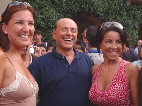 Berlusconi und die Frauen,
