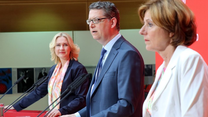 SPD Vorstandssitzung