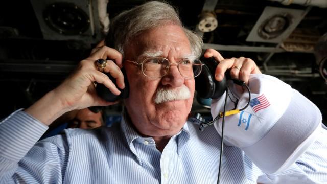 U.S. National Security Advisor John Bolton in Israel