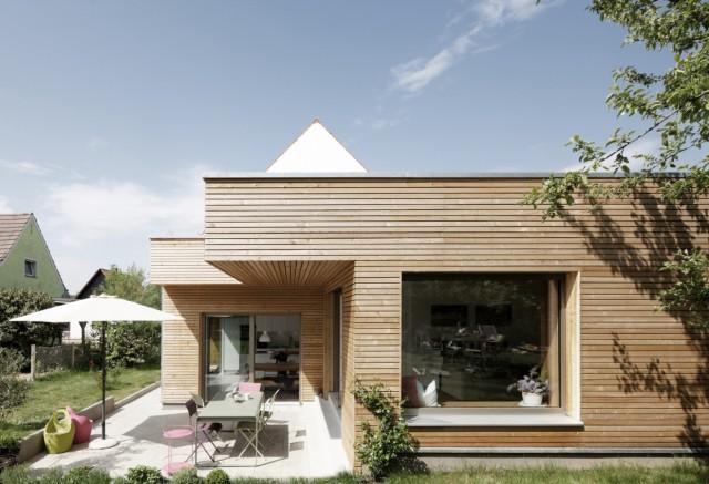Architektouren 2019 haus w - Neues Siedlungshaus mit Anbau in Regensburg