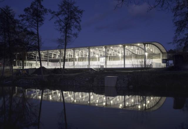 Architektouren 2019, eubau Eissportanlage Am Eisteich in Hof