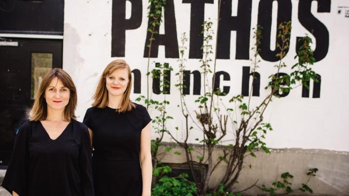 Judith Huber und Lea Ralfs leiten das Pathos Theater in München
