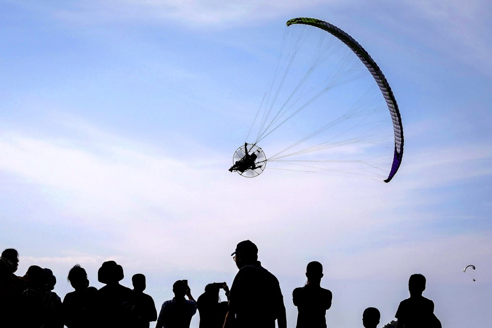 The Heavens Gate Paramotor Air Games