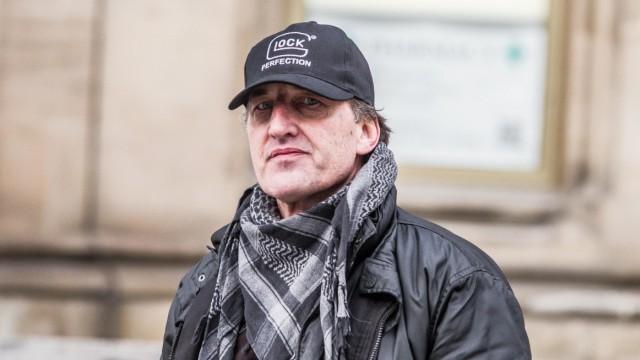 Der Münchner Pegida-Chef Heinz Meyer