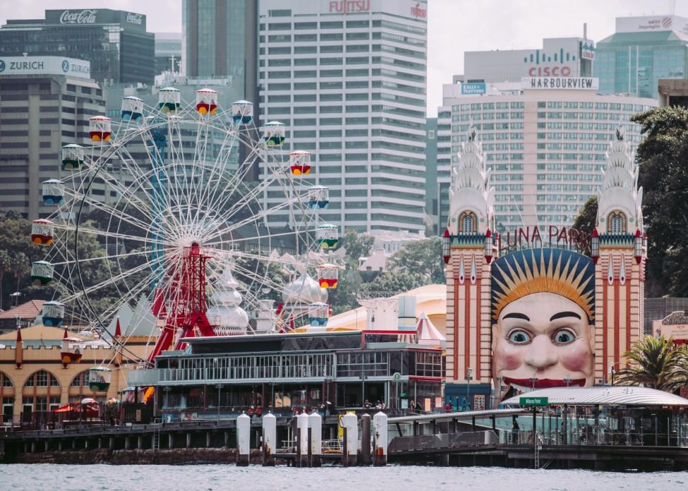 Der Luna Park ist ein Vergnügungspark in Sydney in Australien.