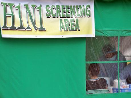 H1N1, Seuchengefahr, AFP