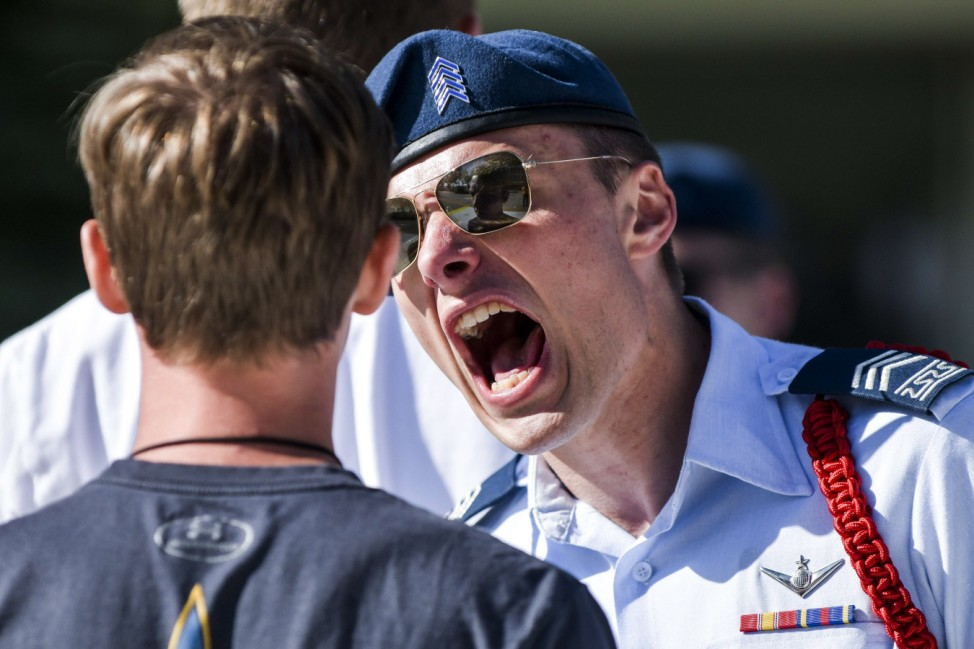 Air Force Academy Cadets Begin First Day Of Basic Training On 'Doolie Day'