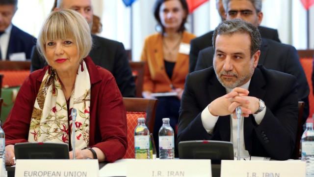Iran - Konferenz zum Atomabkommen 2019 in Wien