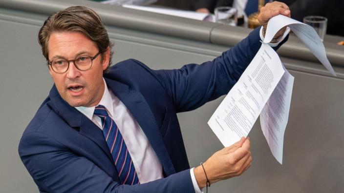 Bundestag - Aktuelle Stunde im Bundestag