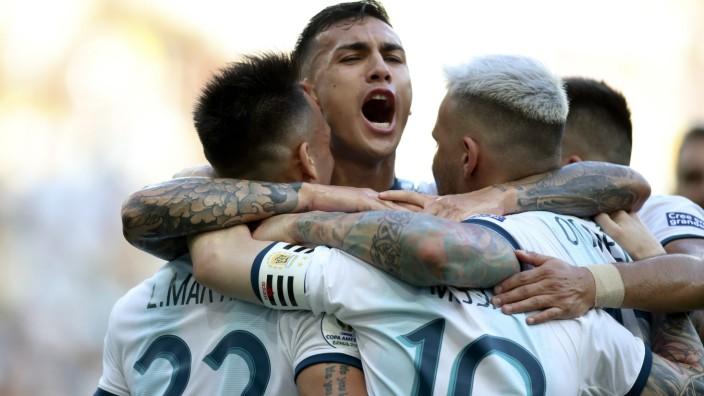 Fußball: Copa América, Argentinien - Venezuela