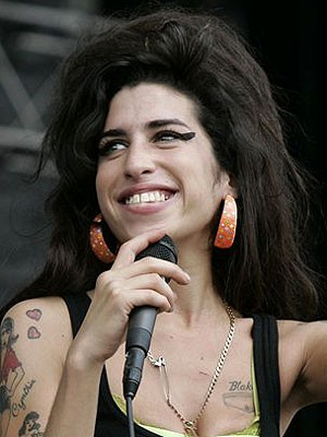 Amy Winehouse; AP