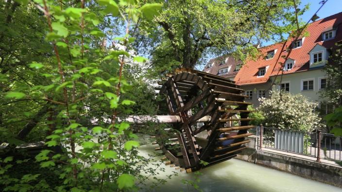 Historische Augsburger Wasserwirtschaft