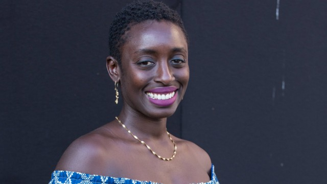 Rome Literature International Festival Ghanaian writer Ayesha Harruna Attah Photocall n Rome for
