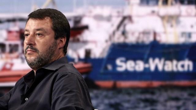 Matteo Salvini ,Seenotrettung