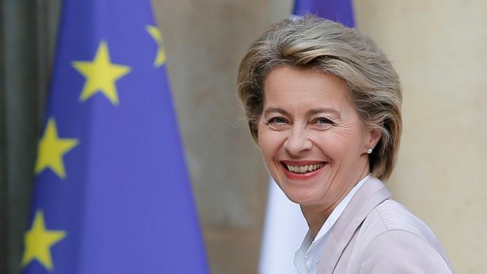 Ursula von der Leyen, nominiert als EU-Kommissionspräsidentin