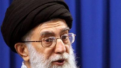Iran: Irans Revolutionsführer Ayatollah Ali Chamenei griff in seiner Rede Israel mit drastischen Worten an.
