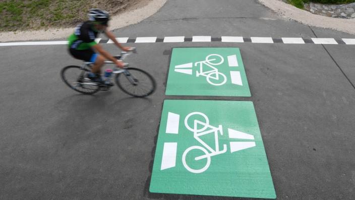 Erster Radschnellweg in Hessen