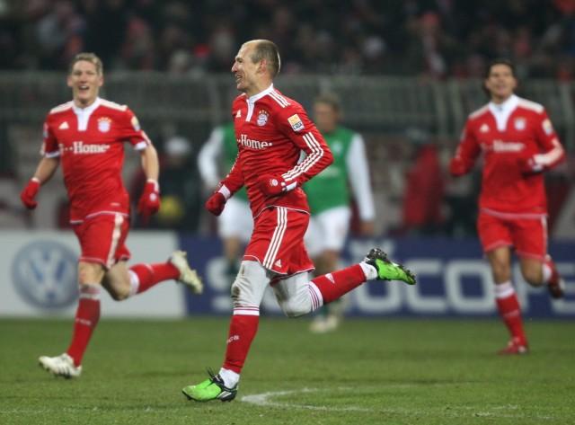 SV Werder Bremen v FC Bayern Muenchen - Bundesliga; Robben