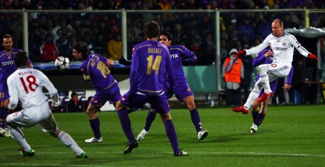AFC Fiorentina v Bayern Munich - UEFA Champions League; Robben