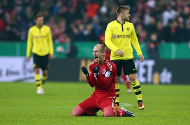 Bayern Muenchen v Borussia Dortmund - DFB Cup; Robben