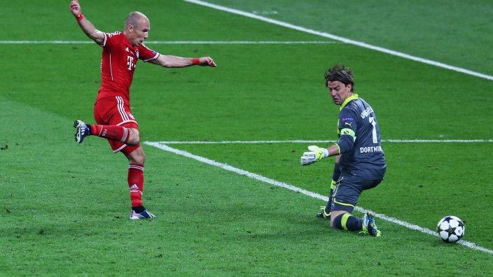 Borussia Dortmund v FC Bayern Muenchen - UEFA Champions League Final; Robben