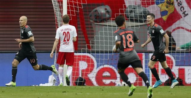 RB Leipzig v Bayern Muenchen - Bundesliga; Robben