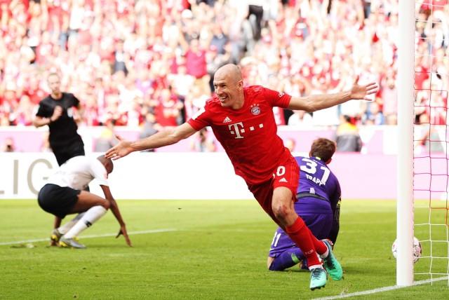 FC Bayern Muenchen v Eintracht Frankfurt - Bundesliga; Robben