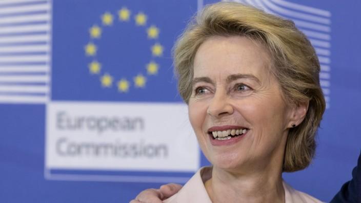 Ursula Von Der Leyen Seeks Commission's Approval For EU Leadership