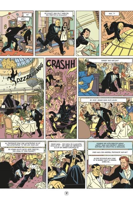 """Bilder vom neuen 25. Band der Blake & Mortimer Comic-Serie """"Das Tal der Unsterblichen"""", Carlsen Verlag"""