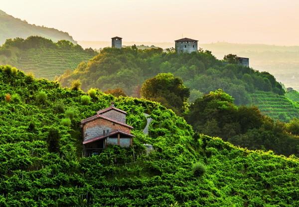 Col San Martino; Le Colline del Prosecco di Conegliano e Valdobbiadene Unesco Welterbe Titel 2019