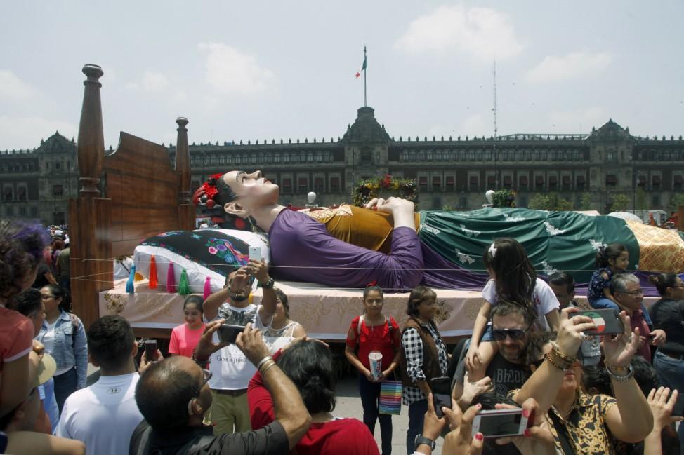 Ausstellung zum Geburtstag von Frida Kahlo