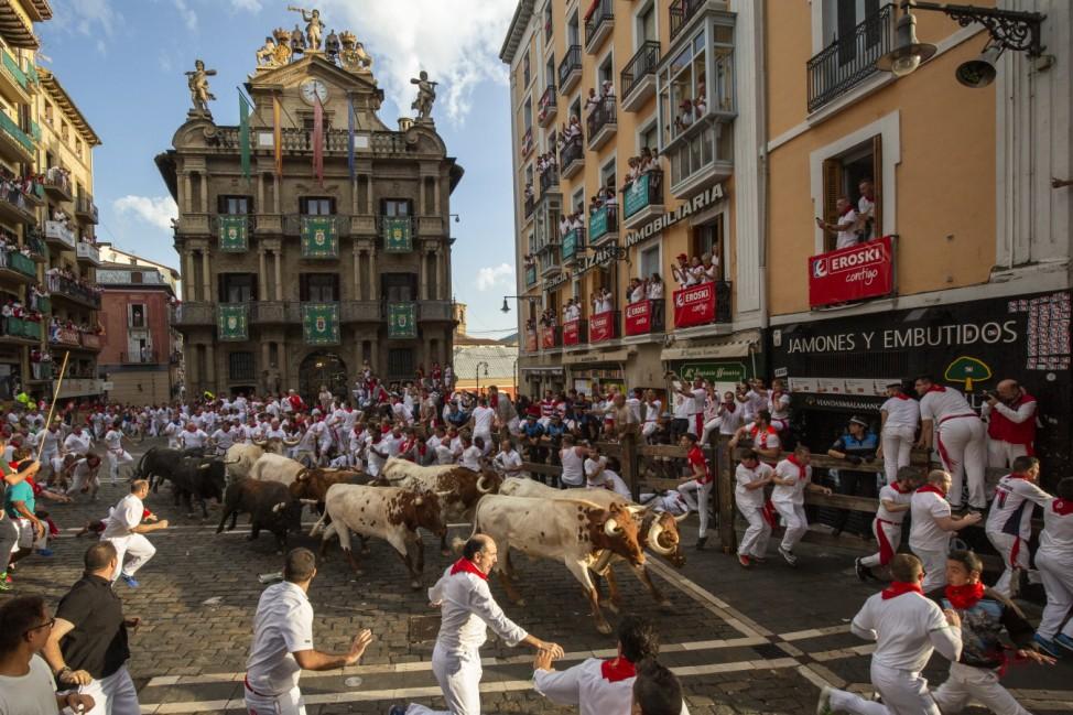 Day 3 - San Fermin Running of the Bulls 2019