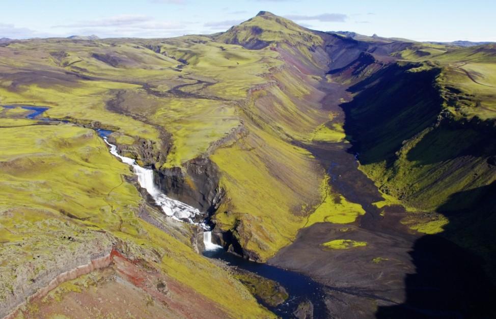 Eldgjá; Vatnajökull National Park Island Iceland Unesco Welterbe Titel 2019