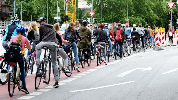 MVG-Streik: An diesem Streikdienstag die Alternative: das Rad.