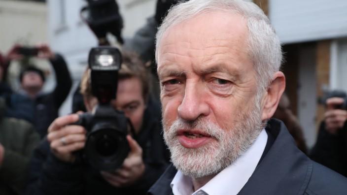 Großbritannien: Labour-Chef Jeremy Corbyn will dem britischen Wahlvolk erneut eine Stimme in Sachen Brexit geben.