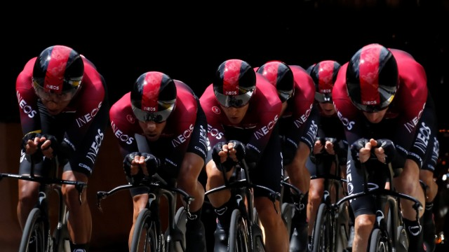 Tour de France - The 27.6-km Stage 2 Team Time Trial from Brussels Royal Palace to Brussels Atomium