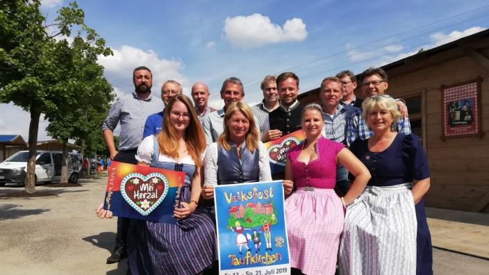 Volksfest Taufkirchen 2019