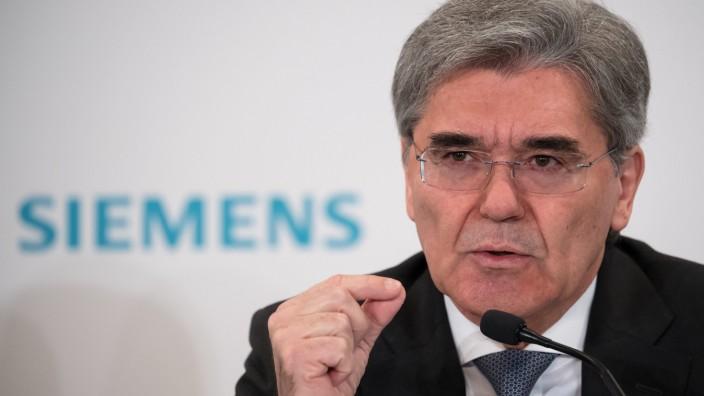 Siemens-Chef Kaeser