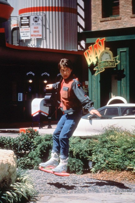 Film still or Publicity still from Back to the Future II Michael J Fox © 1989 Amblin Ent Photo Cre