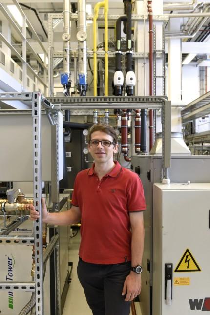 TU-Campus Garching: Franz Christange hat das Labor im Zentrum für gekoppelte intelligente Energiesysteme mit entwickelt.