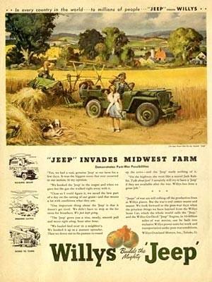 Willys Jeep Anzeige