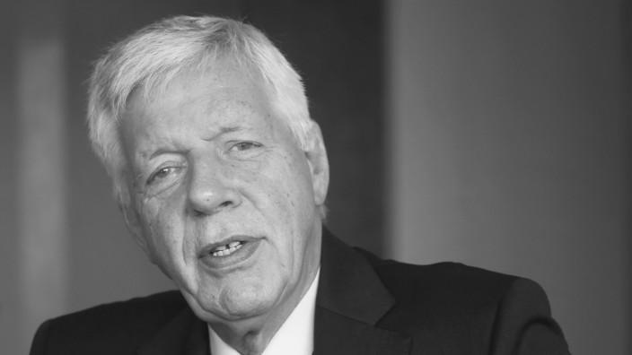 Ex-Minister und Manager Werner Müller gestorben